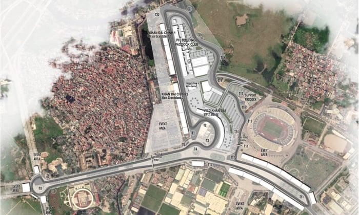 Hanoi hosting the Vietnam Grand Prix fits the bill for F1's
