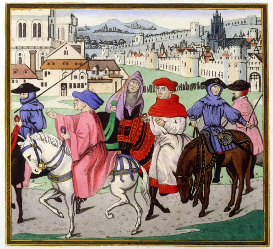 Pilgrims … Chaucer's wrote of history's bias against women.