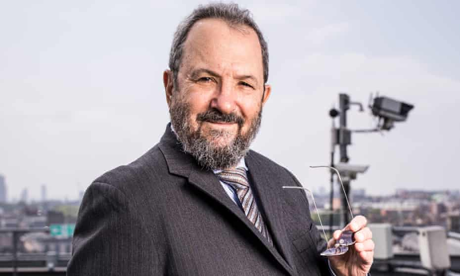 Ehud Barak. London. Photograph by David Levene 23/5/18