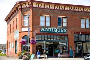 Antiques store in Anacortes, Washington