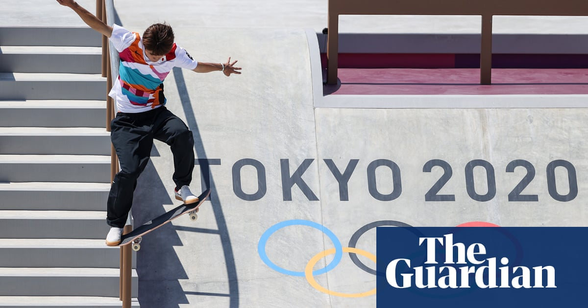 Japan's golden day at Olympics softens mood of Covid misgivings