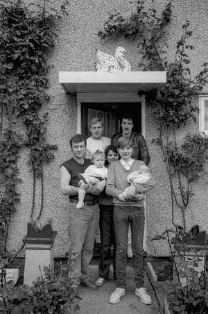 Swan family, Tranmere, 1985