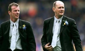 Graham Rix, left, and Gwyn Williams, right, have denied racially abusing youth-team players at Chelsea.
