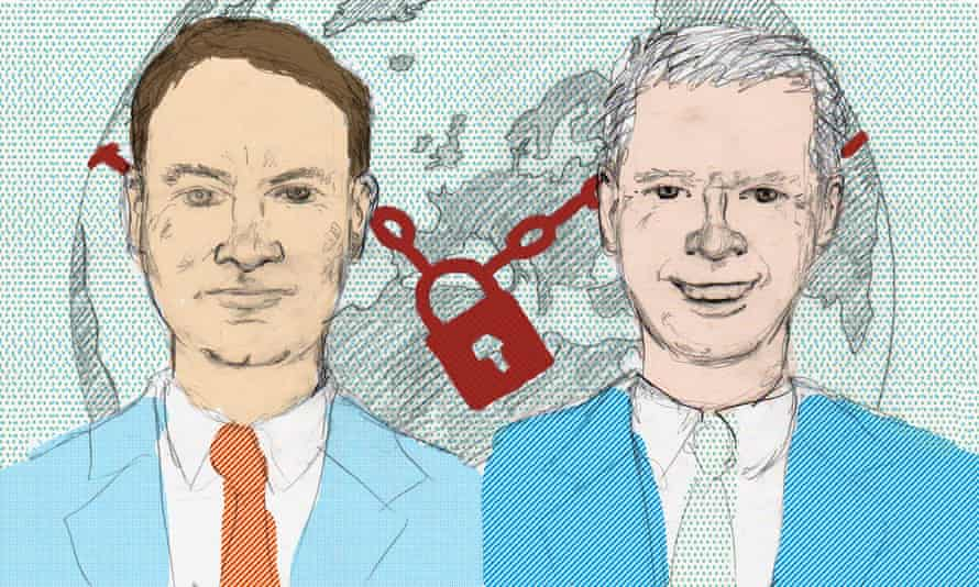 Colin Riordan discusses the international student dilemma with Dominic Shellard. Illustration: Sophie Wolfson