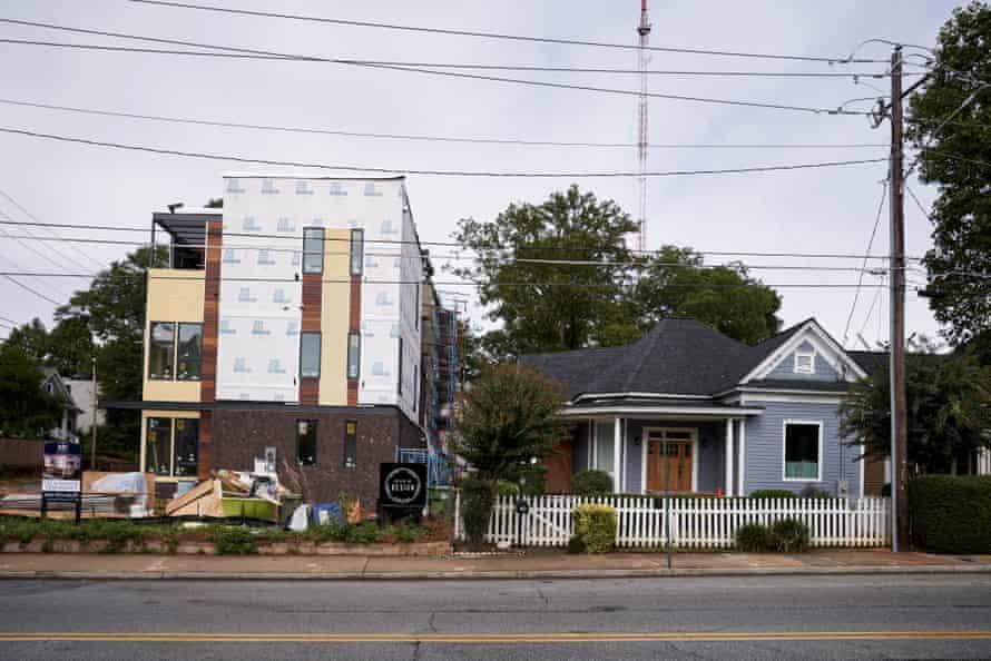 Houses in Old Fourth Ward, Atlanta GA