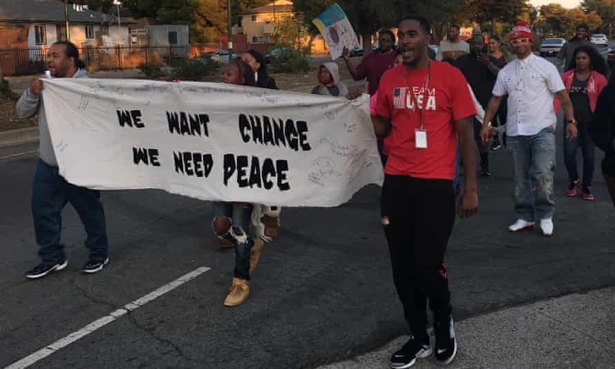 The East Oakland protesters