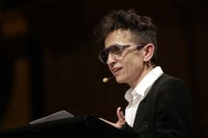 Journalist Masha Gessen speaking at Sydney Writers Festival, May 2018