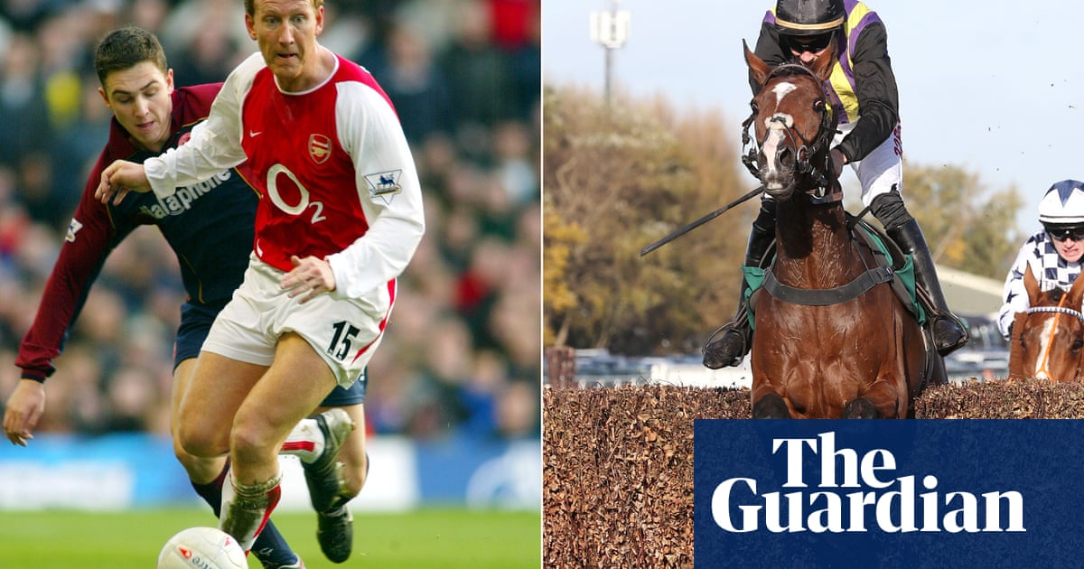 Which racehorses are named after footballers – and what's the best XI?