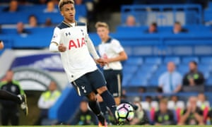 Marcus Edwards has been unable to force himself into first-team contention at Tottenham this season.