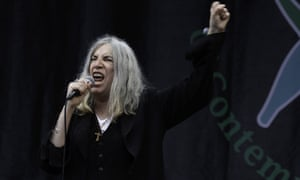 Hoby had previously referred to Patti Smith as 'a consummate badass'.