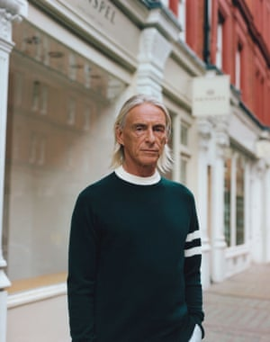 Style council Sunspel has joined forces with Paul Weller to create a personal edit of staples, such as a mac, Henley T-shirts and a college jumper. £215, sunspel.com