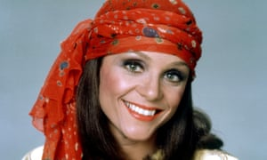 Valerie Harper in Rhoda, 1974. She played an outgoing career girl in an era when women in sitcoms were mainly the recipients of an evening greeting from their husbands of 'Honey, I'm home'.