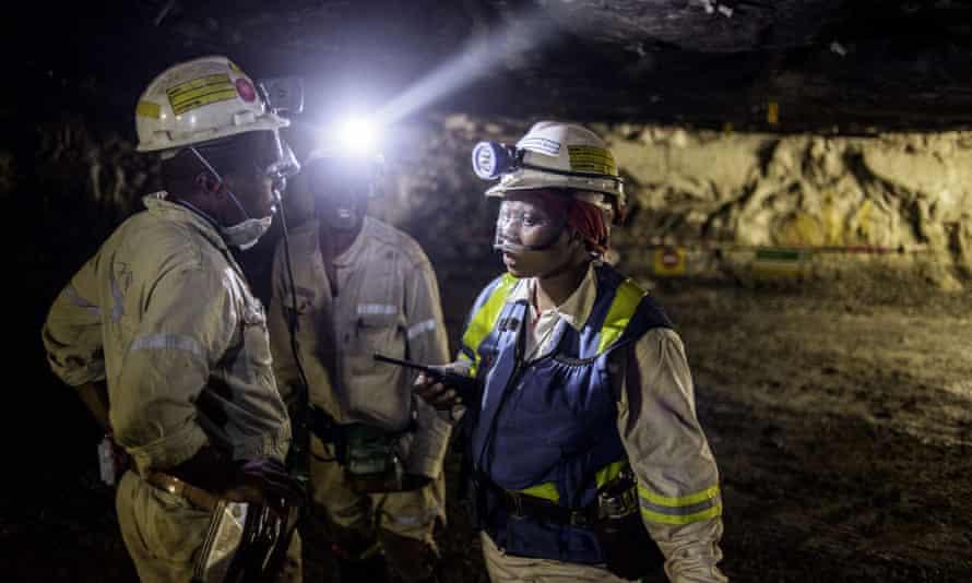 Bathopele platinum mine, South Africa