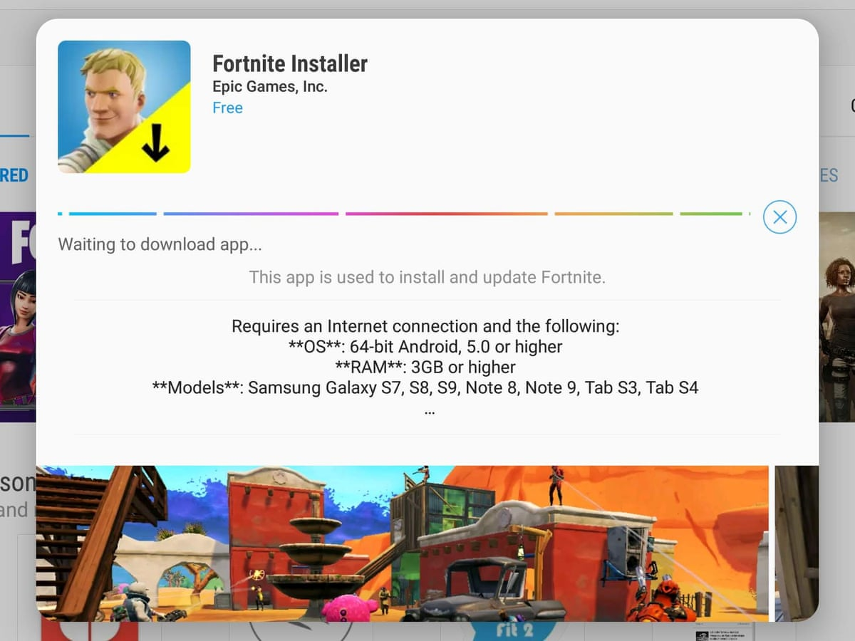 How To Download Fortnite On Mac Os Using Developer Mode Fortnite Players Using Android Phones At Risk Of Malware Infections Fortnite The Guardian