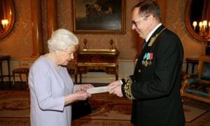 Queen Elizabeth receives Andrei Kelin, Russia's ambassador to the UK