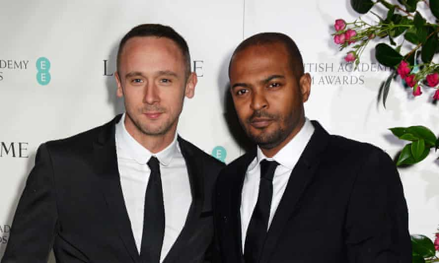 Jason Maza and Noel Clarke