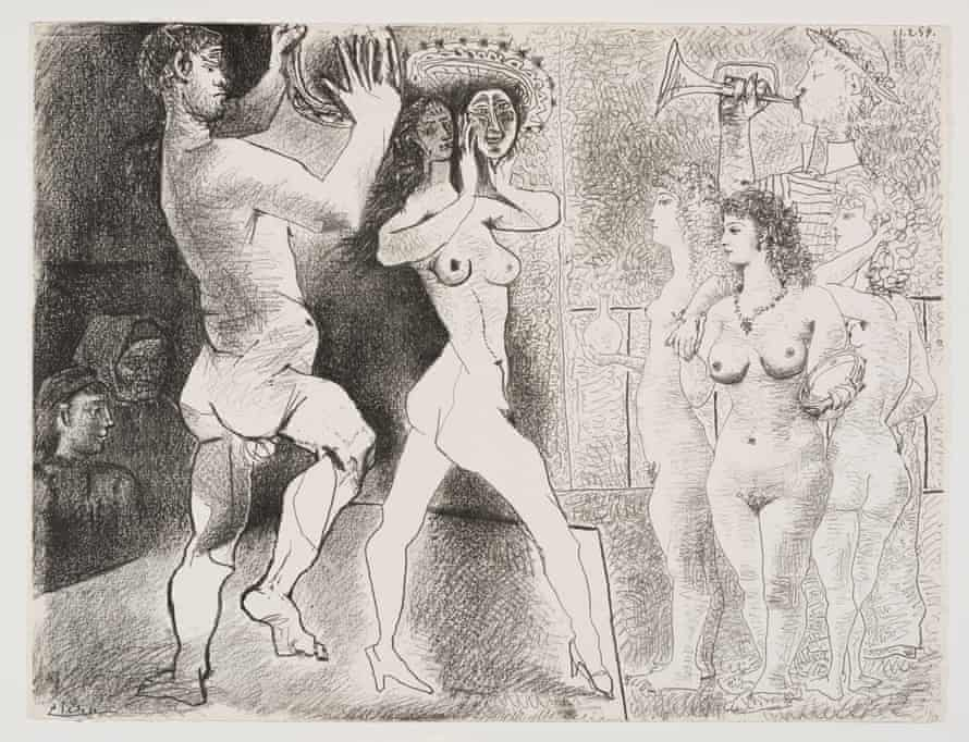 Pablo Picasso's The Rehearsal