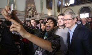 Apple chief executive Tim Cook.