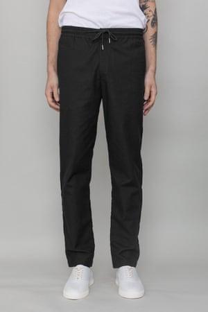 Black drawcord trousers £125 folkclothing.com