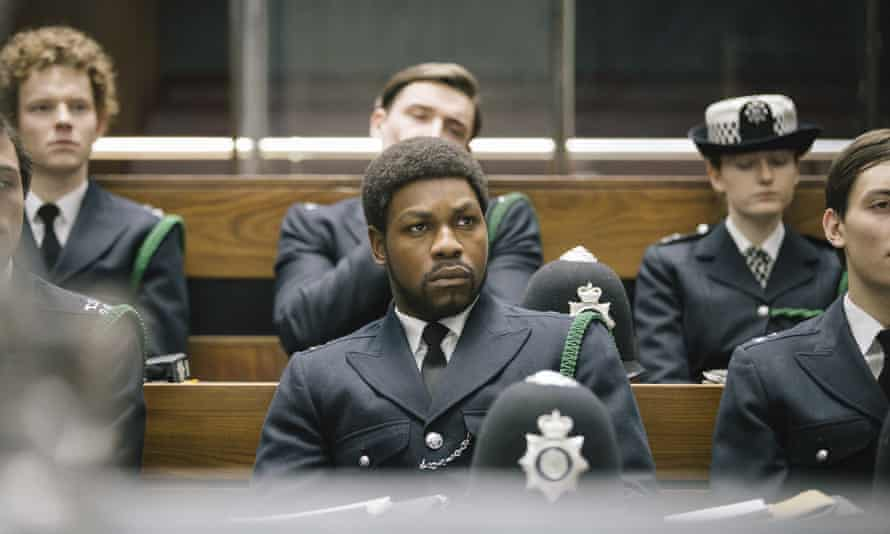 John Boyega in a scene from Small Axe