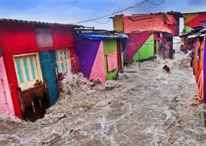 High Tide Enters Home by SL Shanth Kumar, Mumbai
