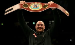 Tyson Fury risks losing his WBO heavyweight belt when the governing body discusses his status at its annual convention on 17 October