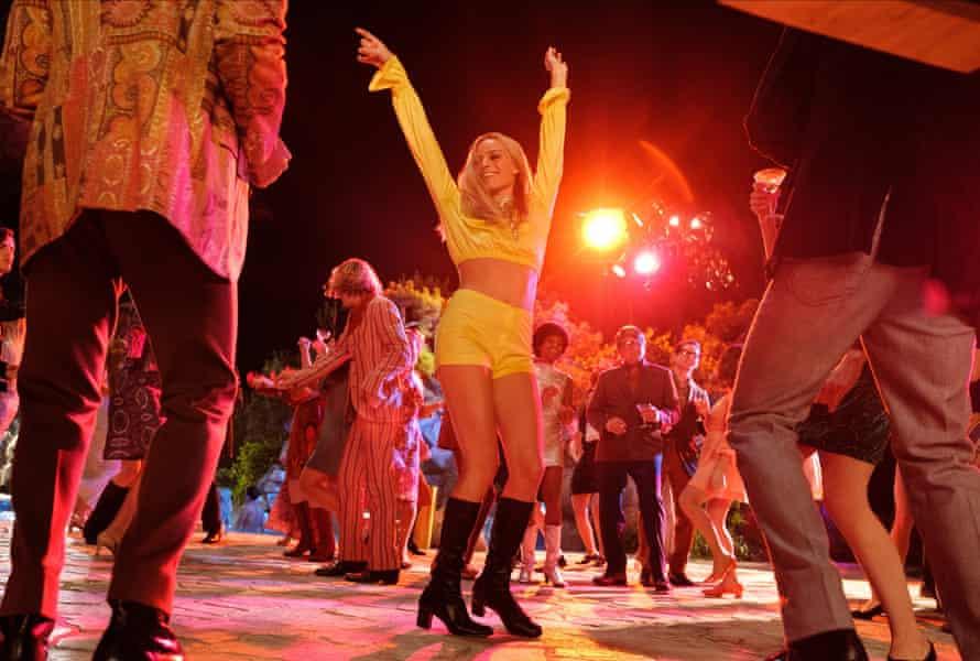 Nice footwork … Margot Robbie as Sharon Tate.