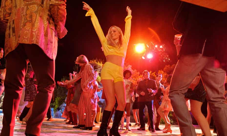 Party time … Margot Robbie in Once Upon a Time in Hollywood.