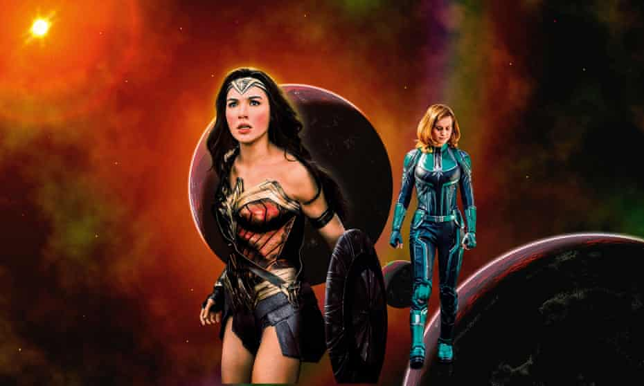 Gal Gadot and Brie Larson take on the universe.
