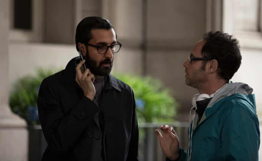 'When you begin to work, you narrow down possibilities' … Omer Fast directs Arsher Ali, who plays Naz