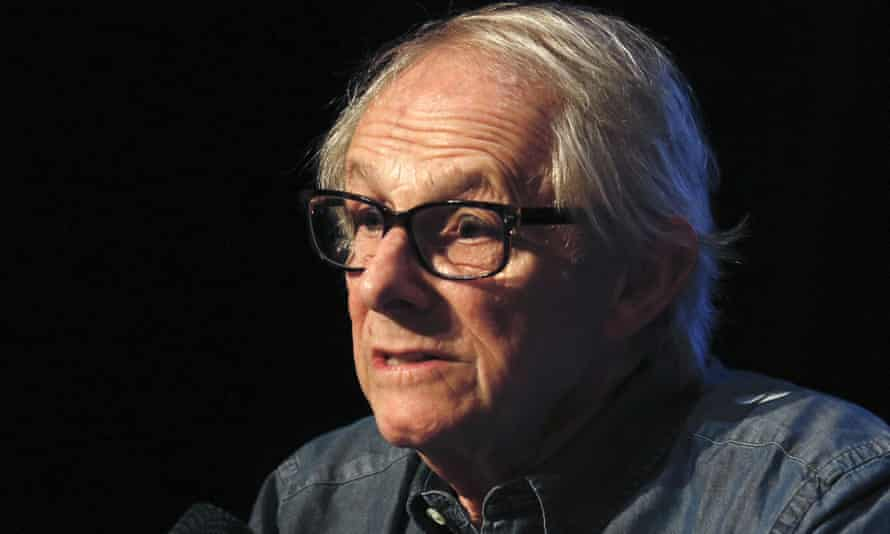 Superhero films are a 'market exercise' says Ken Loach, pictured here in Lyon, France this month.
