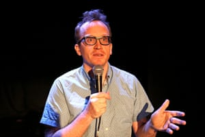 Never soft-soaps the agony of his depression … Chris Gethard at Edinburgh in 2016.