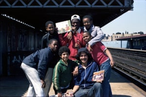 Smily, Ebony Dukes, BS119, Pod and others, Intervale station on the 2's and 5's, The Bronx, 1979