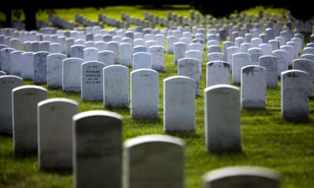 Arlington National Cemetery receives approximately 75 requests and performs up to 30 burials each day.