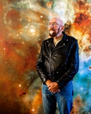 US astrophysicist Kip Thorne helped design the black hole for the film Interstellar.