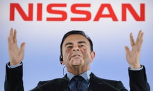 President and CEO of Japan's auto giant Nissan Carlos Ghosn, who was arrested in Tokyo earlier this week