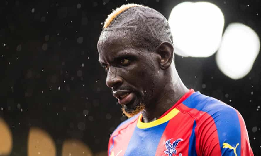 Mamadou Sakho, pictured with Crystal Palace in October 2018.