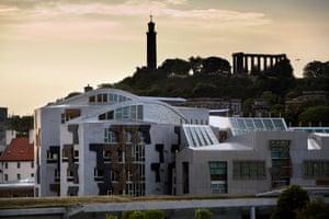 The Scottish Parliament Building, Edinburgh.