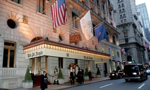 The St Regis New York, one of Starwood's hotels.