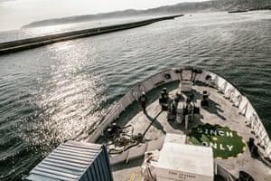 The Aquarius leaves Marseille on 1 August