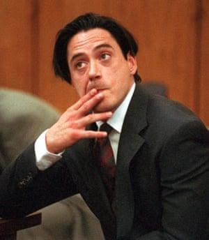 Robert Downey Jr in court