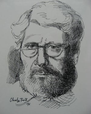 A self-portrait by Charles Front.