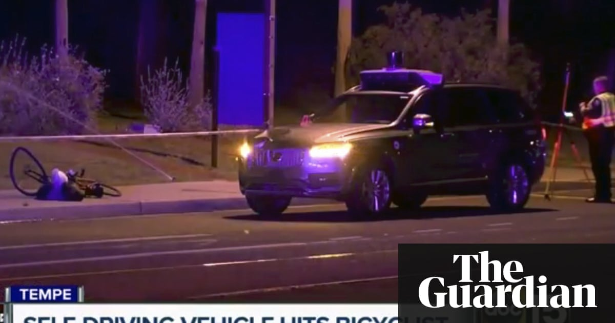 Self-driving Uber kills Arizona woman in first fatal crash involving pedestrian