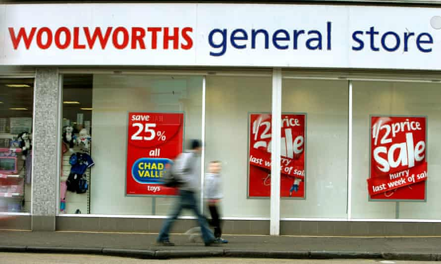 A Woolworths in Musselburgh, Scotland, in 2005.