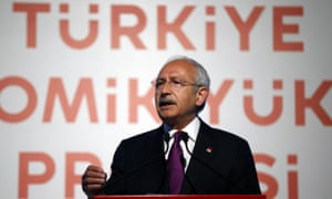 Kemal Kilicdaroglu, leader of Turkey's opposition Republican People's party