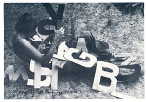 Peter Hutchinson, Struggling with Language, 1975