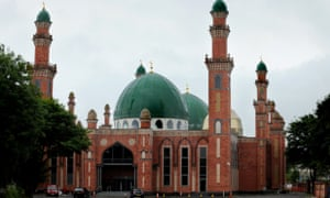 The Bradford Grand Mosque in the Little Horton area of the city