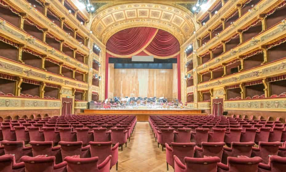 Teatro Massimo Vittorio Emanuele, Palermo, the third largest opera house in Europe