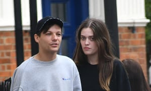 Félicité Tomlinson and her brother Louis Tomlinson.