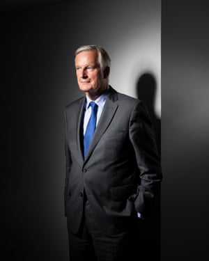 The EU's former Brexit chief negotiator, Michel Barnier, photographed for an interview in the New Review.